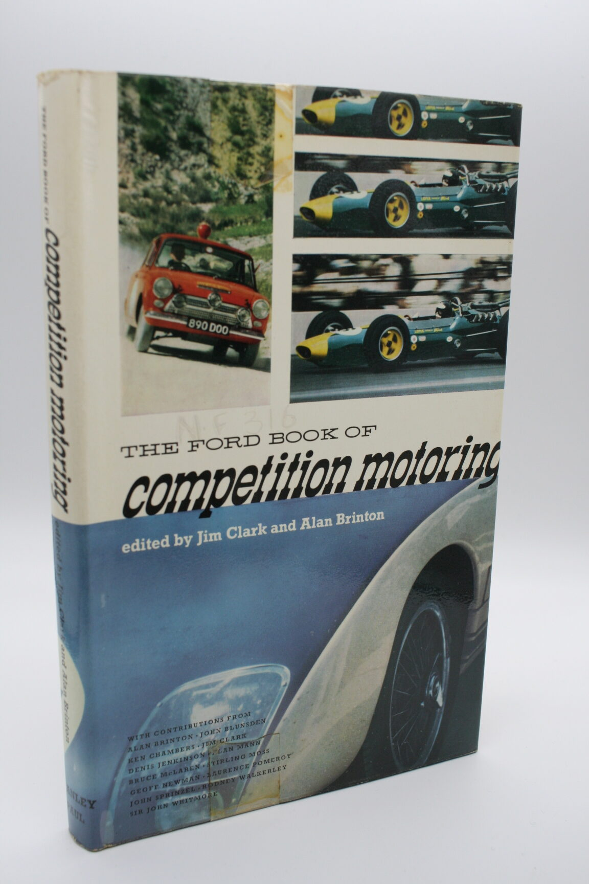 The Ford Book of Competition Motoring - Jim Clark and Alan Brinton